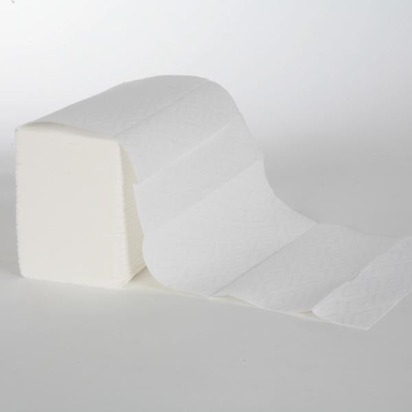 Papierhandtücher 3-lagig   21,5 cm x 27,0 cm   Interfold   weiß   2.340 Blatt/Karton