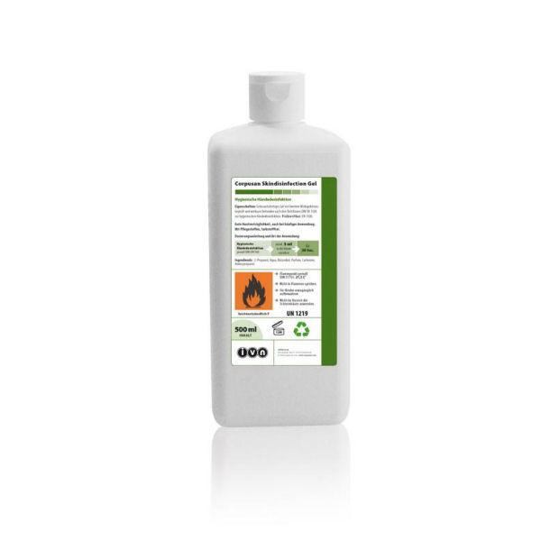 IVN Corpusan Skindisinfection Gel   500 ml   VAH-Listung