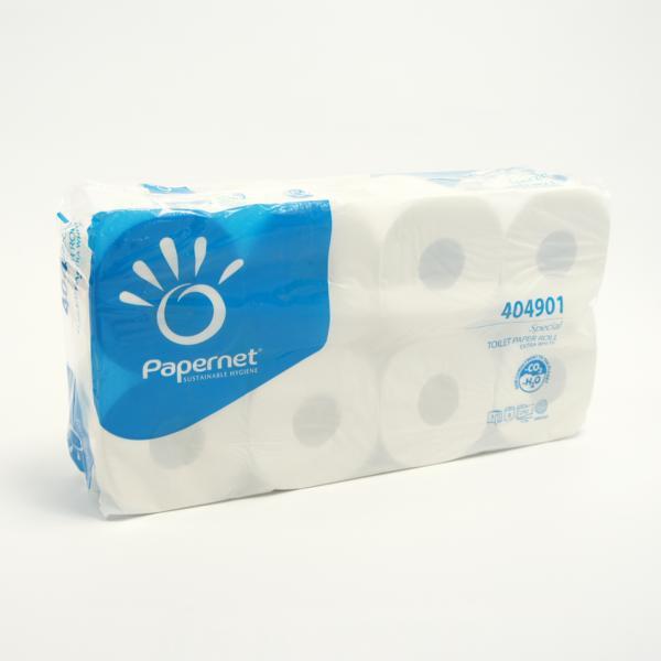 72 Rollen JUMBOPACK Toilettenpapier 3-lagig SOFT, Recycling weiß, 72 Rollen/Sack
