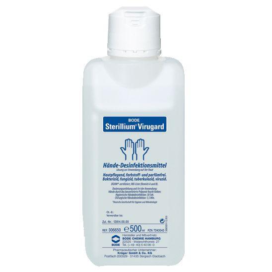 Sterillium® Virugard | viruzide Händedesinfektion | farbstoff- und parfümfrei | 500 ml