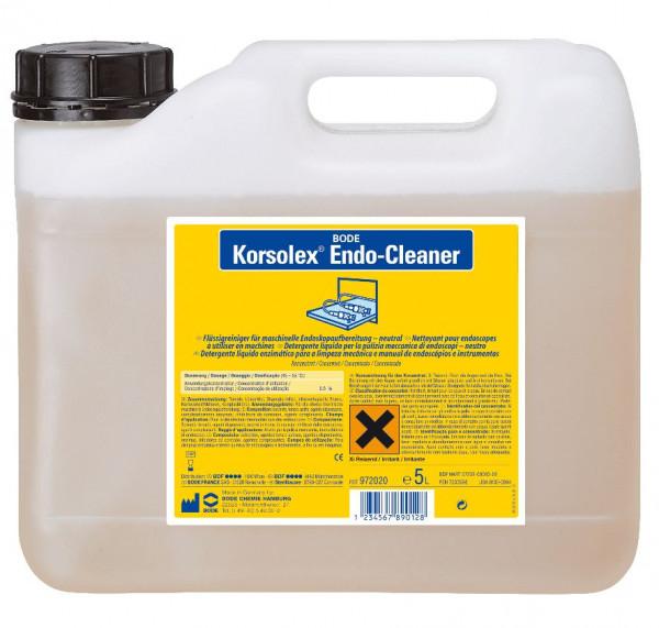 5 Liter Korsolex® Endo-Cleaner | Reiniger für die chemo-thermische Endoskopaufbereitung