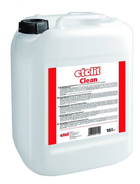 10 Liter etolit® Clean   Spezialreiniger für Kombidämpfer mit automatischem Reinigungssystem