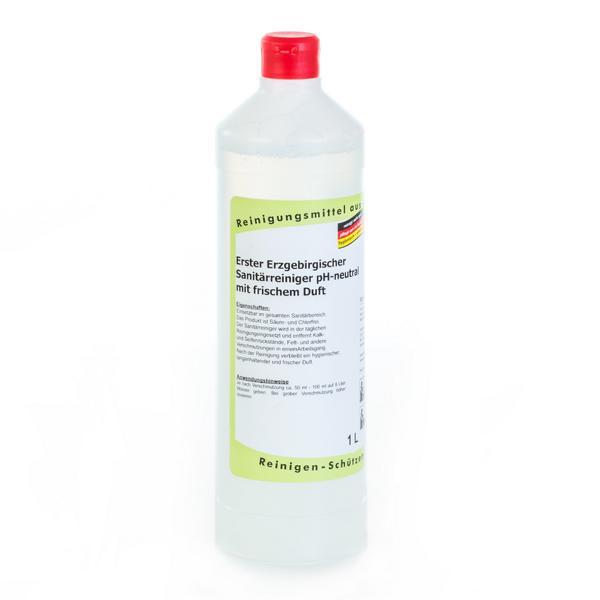 1 Liter Erster Erzgebirgischer Sanitärreiniger pH-neutral mit frischem Duft