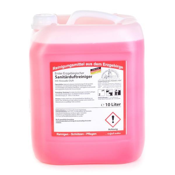 10 Liter Erster Erzgebirgischer Sanitärduftreiniger, mit Avocado-Duft | Unterhaltsreiniger