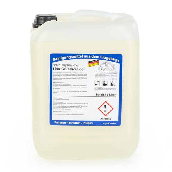 10 Liter Erster Erzgebirgischer Lino-Grundreiniger | für alle wasserbeständigen Fußböden