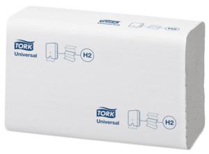 "1 Karton ""Tork Xpress® Multifold Universal"" Papierhandtücher 2-lagig, 2880 Blatt/Karton, 21,3x23,4cm"