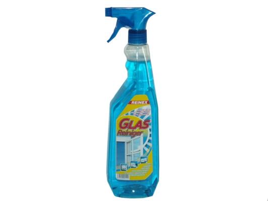 1 Liter REINEX Glasreiniger mit Sprühpistole | reinigt Glasscheiben, Spiegel, Autoscheiben, etc.