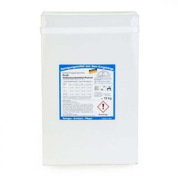 10 kg Erstes Erzgebirgisches Profi Vollwaschmittel-Pulver | phosphatfreies Vollwaschmittel