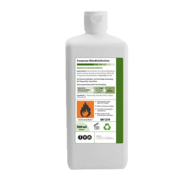 500 ml IVN Corpusan Skindisinfection   alkoholische Händedesinfektion, VAH-Listung, EN