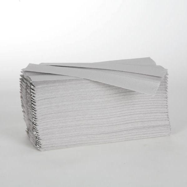 1 Karton Papierhandtücher 1-lagig, 25 x 33 cm, Lagenfalz, Recycling natur, 3.120 Blatt/Karton