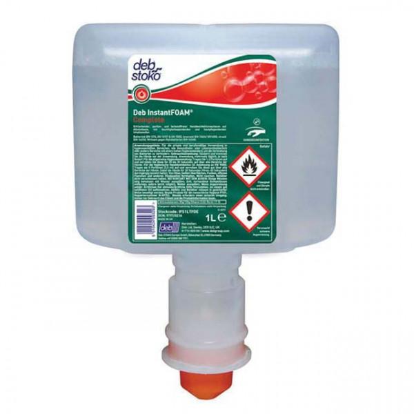 1 Liter Patrone Deb-Stoko® InstantFOAM Complete hochwirksames Schaum-Handdesinfektionsmittel