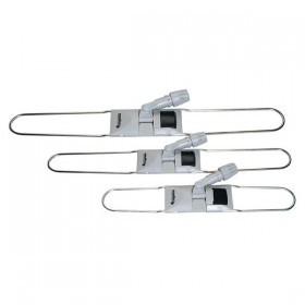 60 cm Mopp-Halter/Feuchtwischmopp-Halter | Klappbarer Metalbügel-Halter