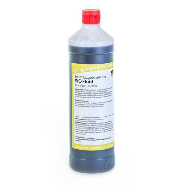 1 Liter Erstes Erzgebirgisches WC-Fluid GERUCHSTOP | Kombi-Produkt für mobile Toiletten