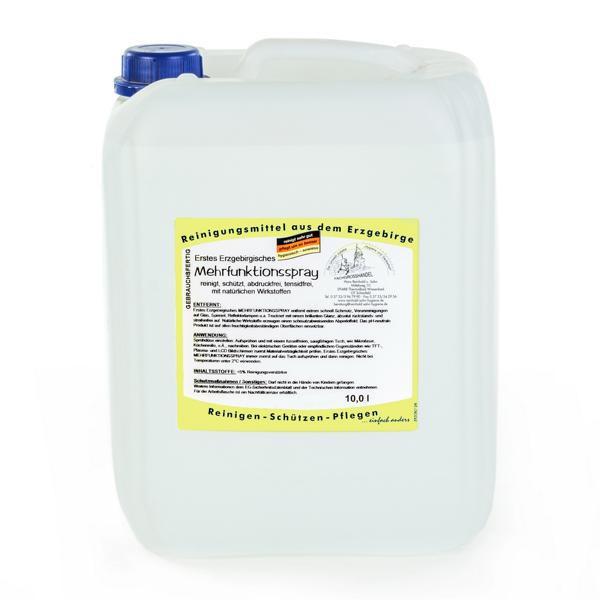 10 Liter Erstes Erzgebirgisches Mehrfunktionsspray   gebrauchsfertig, tensidfrei, pH-neutral