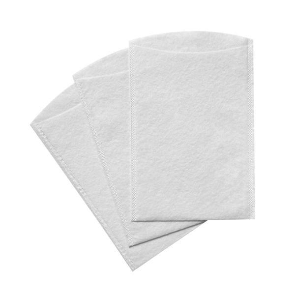 2000 Stück Einweg-Waschhandschuhe verschweißt TEMDEX Molton 60 g/m²   hochweiß, 1-lagig