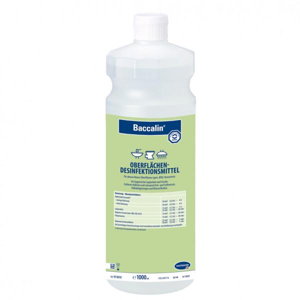 1 Liter Baccalin | aldehydfreier Flächen-Desinfektionsreiniger für Nass- und Sanitärbereiche