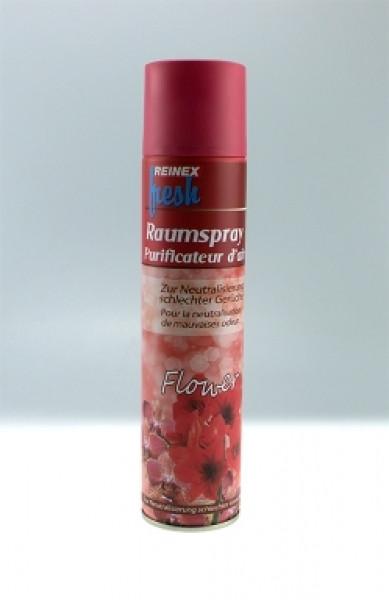 REINEX® Raumduftspray Raum-Lufterfrischer, 300 ml | Duft Flower