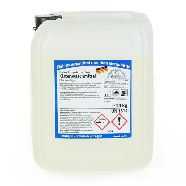 14 kg Erstes Erzgebirgisches Kistenwaschmittel   flüssiger Intensivreiniger für Kunststoffkisten