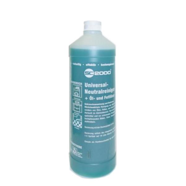 1 Liter R20 SC2000 Universal-Neutralreiniger + Öl- und Fettlöser | sehr ergiebiges Vollkonzentrat