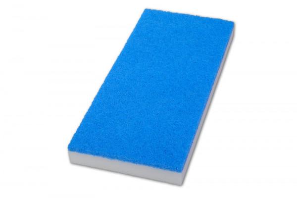 Handpad / Melamin Handpad 2,4 x 11,5 x 25 cm | blau-weiß