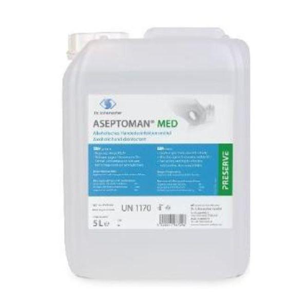 ASEPTOMAN® MED | Alkoholisches Händedesinfektionsmittel | 5 Liter