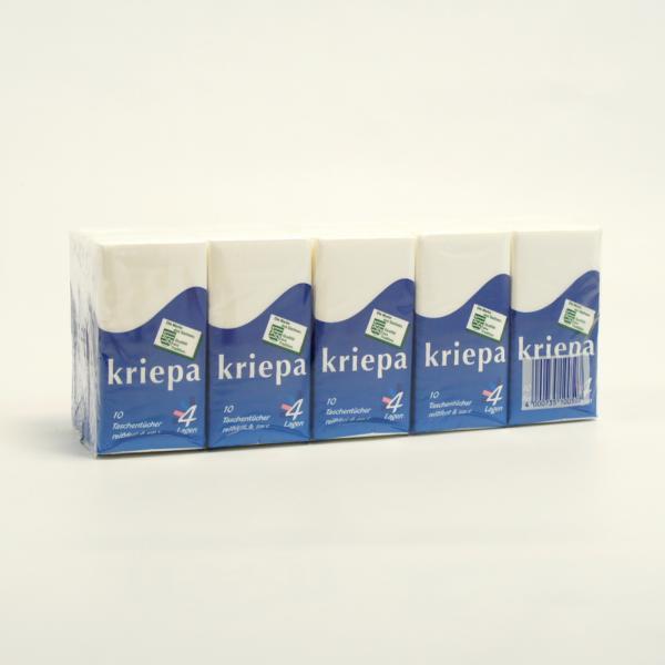 15 Päckchen Taschentücher SUPERSOFT 4-lagig á 10 Tücher im Pack