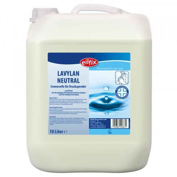 10 Liter Eilfix® Lavydes Cremeseife, duftneutral | Cremeseife für die hygienische Händewaschung