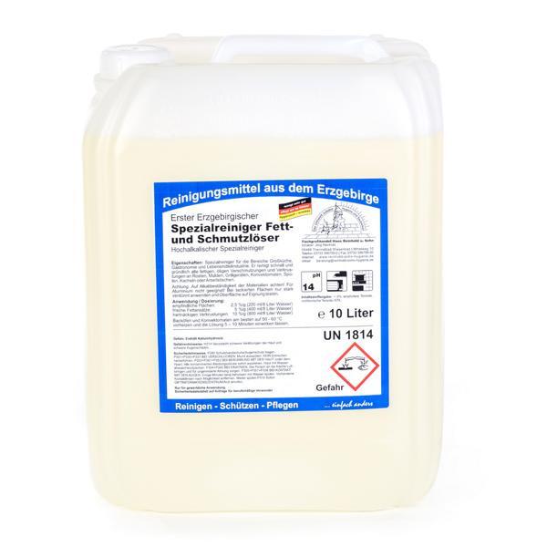 10 Liter Erster Erzgebirgischer Spezialreiniger, Fett- und Schmutzlöser