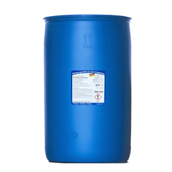 200 Liter Erster Erzgebirgischer KFZ-Allroundreiniger | Spezialreiniger für Hochdruckgeräte