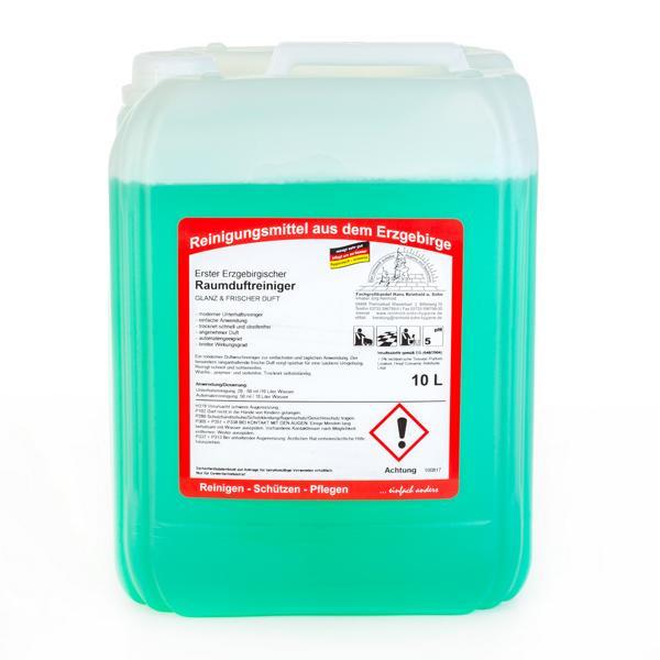 10 Liter Erster Erzgebirgischer Raumduftreiniger | Glanz und frischer Duft