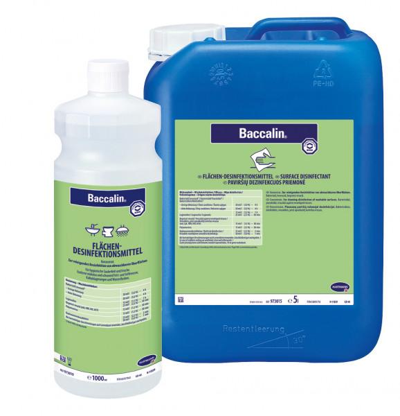 25 Liter Baccalin | aldehydfreier Flächen-Desinfektionsreiniger für Nass- uns Sanitärbereiche
