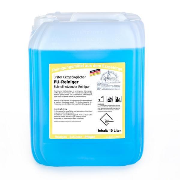 10 Liter Erster Erzgebirgischer PU-Reiniger | hochaktiver Unterhaltsreiniger