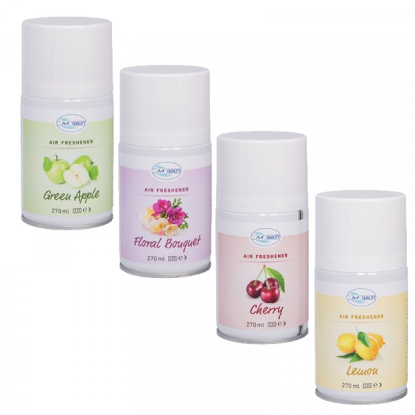 Fix Raumduftdose Duftnoten: Lemon, Green Apple, Floral Bouquet, Cherry | 270 ml