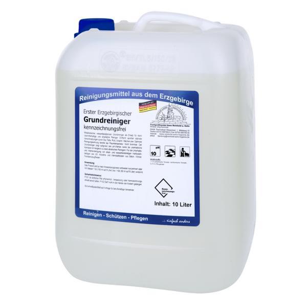 10 Liter Erster Erzgebirgischer Grundreiniger kennzeichnungsfrei I wasserbasierender Grundreiniger