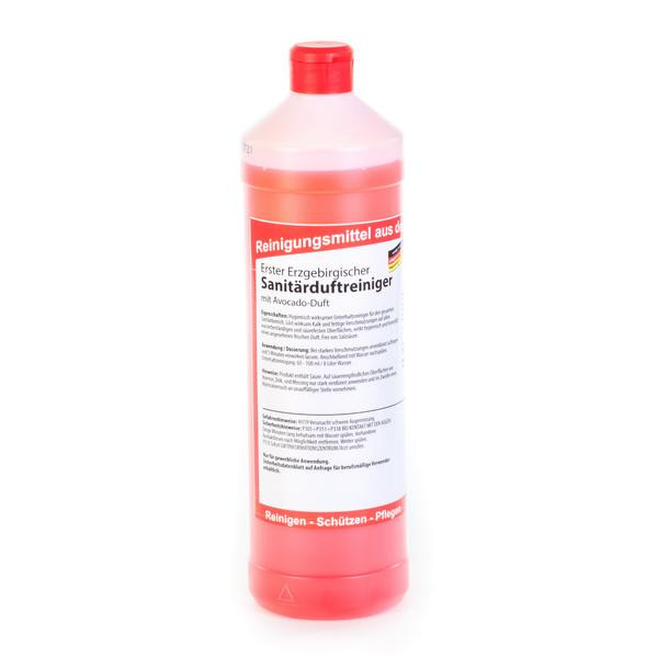 1 Liter Erster Erzgebirgischer Sanitärduftreiniger, mit Avocado-Duft | Unterhaltsreiniger