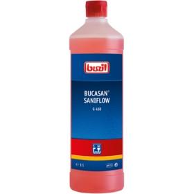 1 Liter G458 BUCASAN® SANIFLOW | Sanitärunterhaltsreiniger auf Zitronensäurebasis