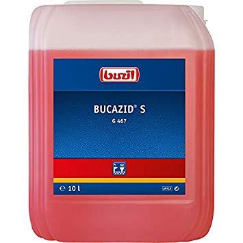 10 Liter G467 Bucazid® S | Sanitärunterhaltsreiniger RK-gelistet