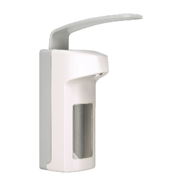 BODE Eurospender 2000 | für 350/500-ml-Flaschen | Armhebel 206 mm, Kunststoff geschlossen