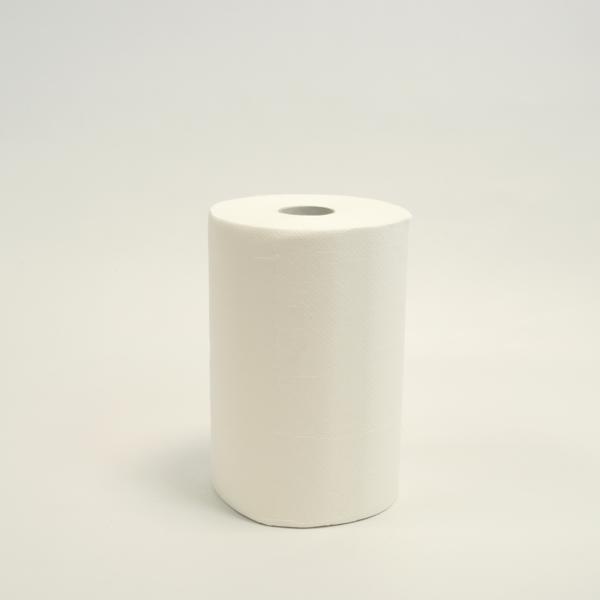 10 Rollen Papierhandtücher á 65 m, JUMBOPACK, 3-lagig, weiß, 10 Rollen/Sack