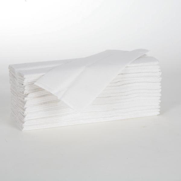 1 Karton Papierhandtücher 2-lagig, VORTEILSPACK 2880 Blatt/Karton, 23 x 31 cm, Lagenfalz, hochweiß
