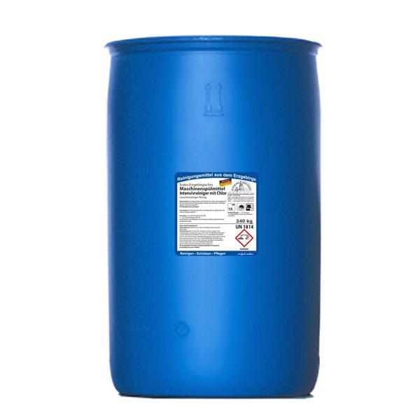 240 kg Erstes Erzgebirgisches Maschinenspülmittel Intensivreiniger mit Chlor MEGAPACK