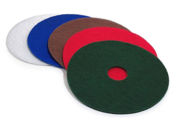 Maschinenpad, 12mm, versch. Größen, weiß, Polieren, Hochglanz-Politur (0800M14)