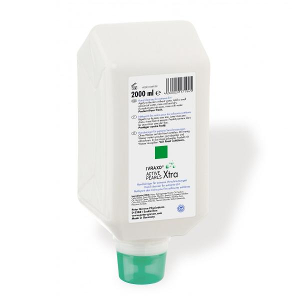 IVRAXO® ACTIVE PEARLS®, 2 Liter Faltflasche/Varioflasche | Handreiniger