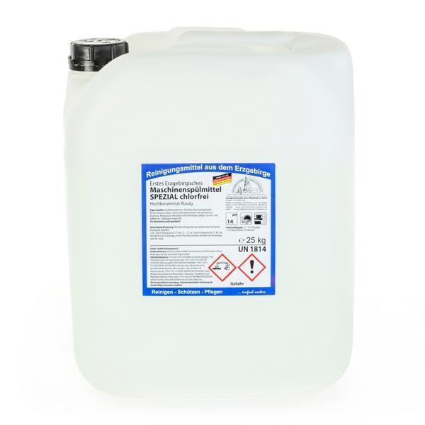 25 kg Erstes Erzgebirgisches Maschinenspülmittel SPEZIAL chlorfrei, Hochkonzentrat flüssig