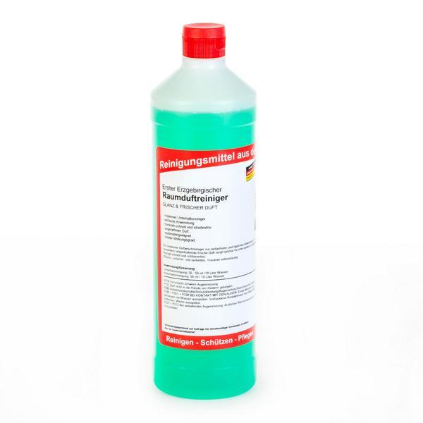 1 Liter Rundflasche Erster Erzgebirgischer Raumduftreiniger | Glanz und frischer Duft