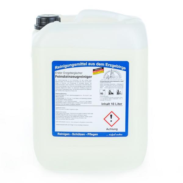 10 Liter Erster Erzgebirgischer Feinsteinzeugreiniger | besonders gut geeignet für Steinzeugfliesen