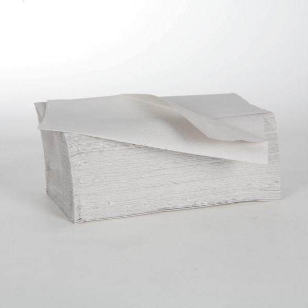 1 Karton Papierhandtücher 1-lagig, 25 x 23 cm, 41 g/m², VORTEILSPACK, 5.000 Blatt/Karton