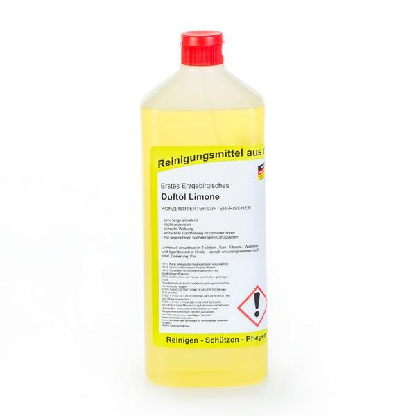 1 Liter Erstes Erzgebirgisches Duftöl Limone   konzentrierter Lufterfrischer
