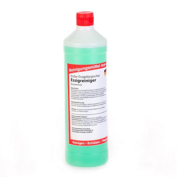 1 Liter Erster Erzgebirgischer Essigreiniger   entfernt Kalkreste, Wasserflecken und Seifenreste