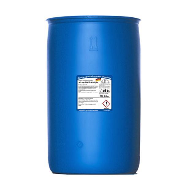 200 Liter Erster Erzgebirgischer Alkohol-Duftreiniger Limone/Orange